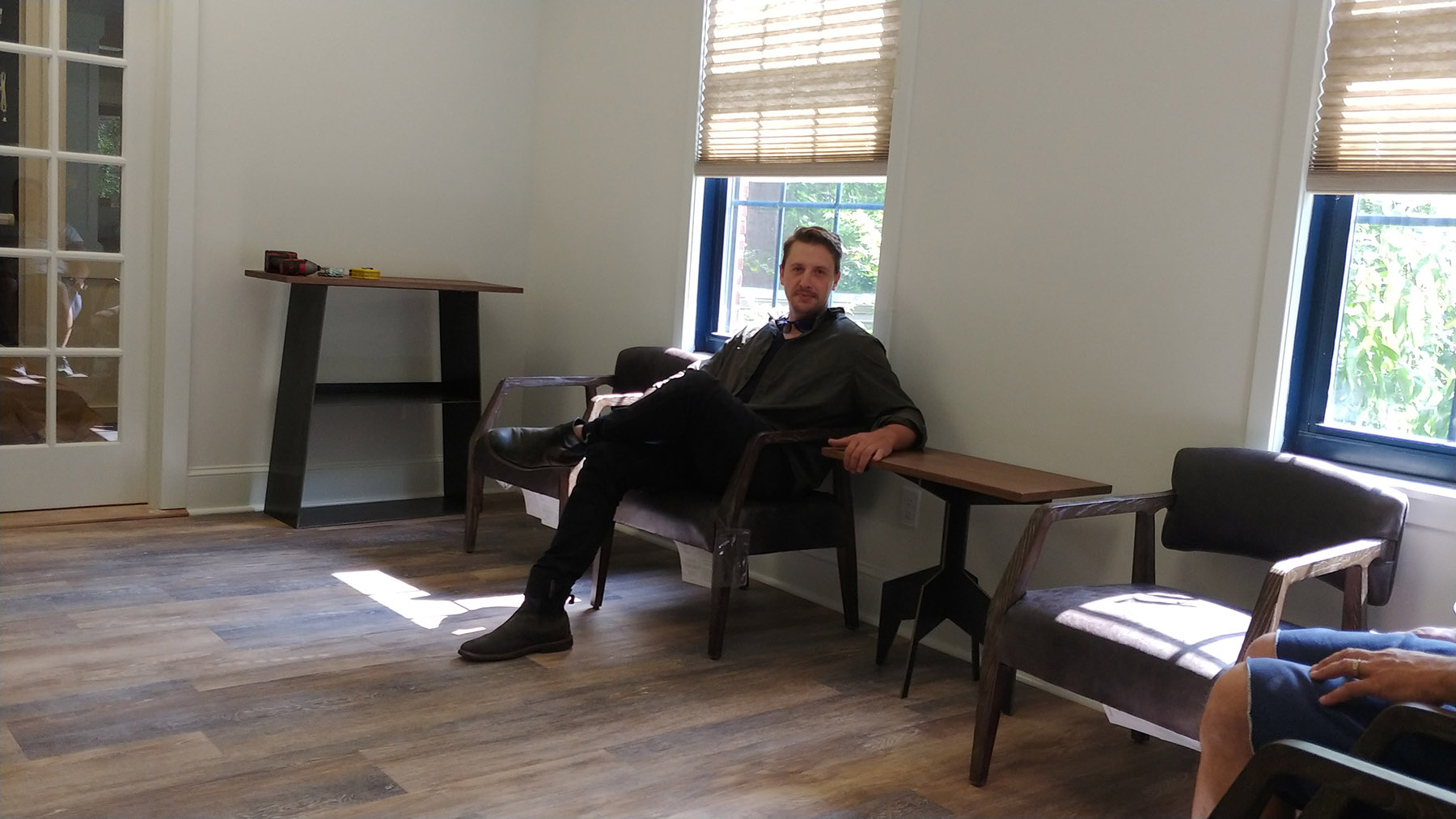 Silver Solutions Pittsfield MA berkshires new office waiting room
